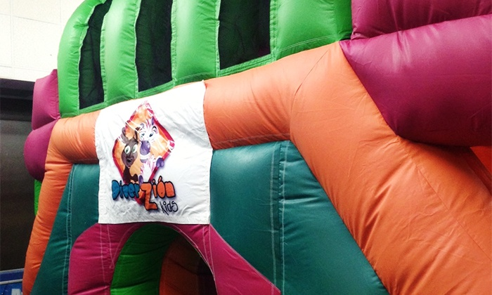 Diverzion Kids - Hialeah Gardens: Punch Card for 5 or 10 Play-Place Visits at Diverzion Kids (Up to 53% Off)