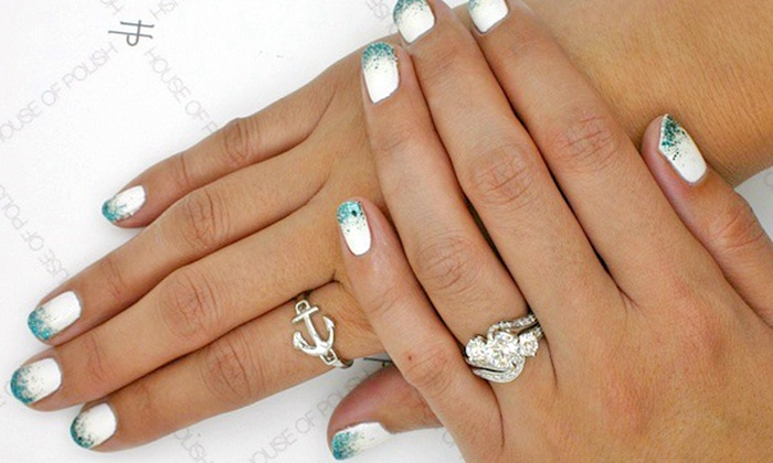 House of Polish - Beverly Hills: Gel Manicure, Manicure with Nail Art, or Gel Mani-Pedi at House of Polish (Up to 33% Off)