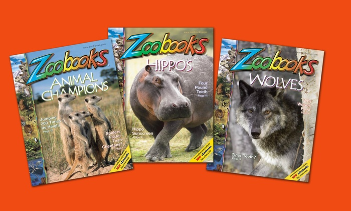 Zoobooks: $15 for $30 Worth of Educational Animal Books, Posters, DVDs, and More from Zoobooks