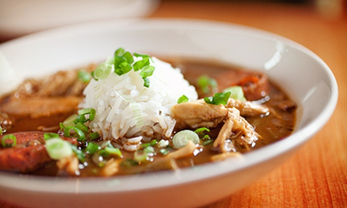 Jazmo'z Bourbon Street Café - Downtown Oklahoma City: $20 for $40 Worth of Cajun and Creole Food at Jazmo'z Bourbon Street Café