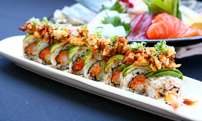 Vibe Asian Fusion - Vibe Asian Fusion: $12 for $20 Worth of Sushi and Drinks at Vibe Asian Fusion