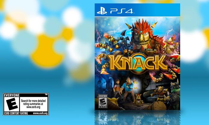 Knack for PS4: Knack for PS4. Free Returns.