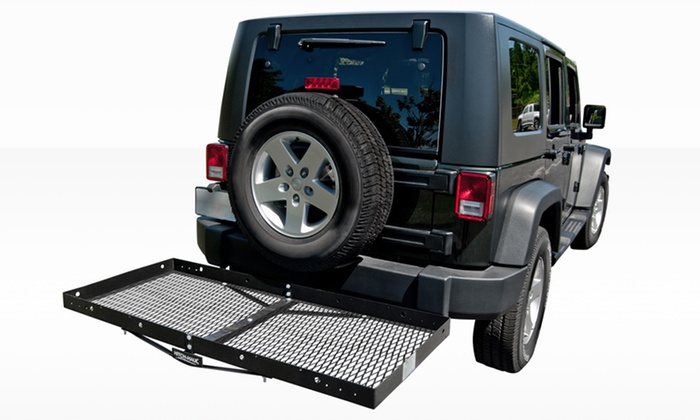Hitch Haul Wide Cargo Carrier: Hitch Haul Wide Cargo Carrier. Free Returns.