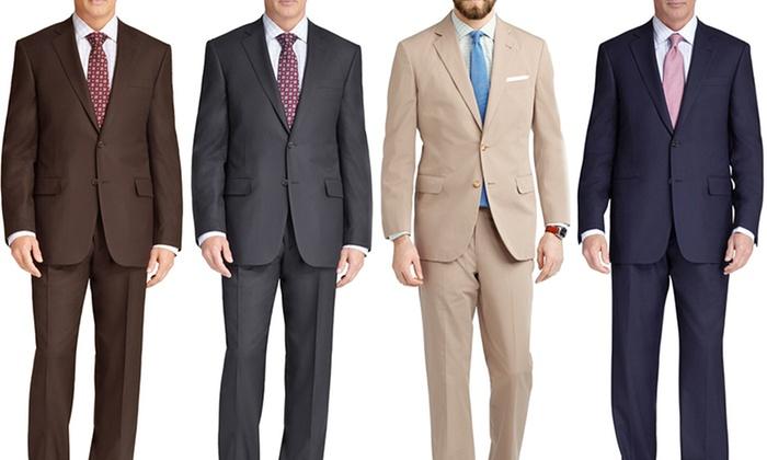 Braveman Men's 2-Piece Suit | Groupon Goods