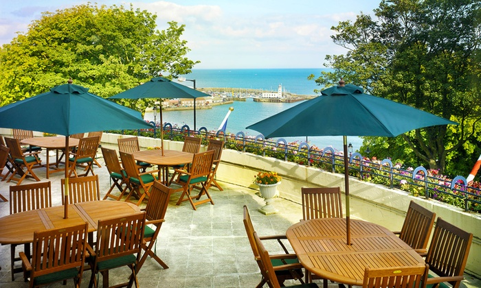 The Royal Scarborough - Scarborough: Scarborough: 1 or 2 Nights for Two with Breakfast, Dinner and Bottle of Wine at The Royal Scarborough