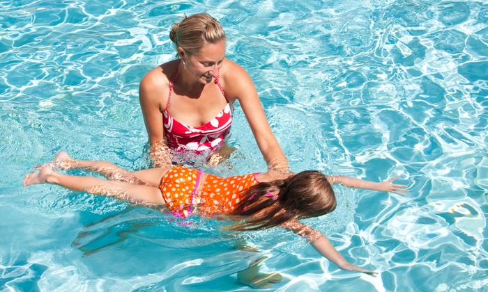 British Swim School - Oak Forest: $89 for One Month of Swim Lessons, Two Classes Per Week from British Swim School ($183 Value)