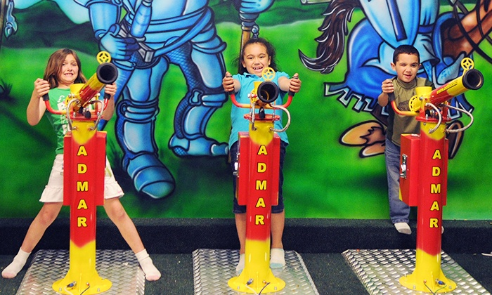 Kidz Village - Multiple Locations: 5, 10, or 15 Groupons, Each Good for One Play Pass Valid Monday–Friday at Kidz Village (Up to 50% Off)