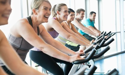 Five or Ten Spin Classes at Jewish Community Center (Up to 48% Off)