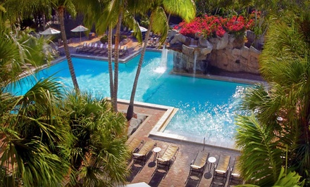 Miami: One-Night Stay with Free Parking and Spa and Dining Credits at Bonaventure Resort & Spa in Weston, FL