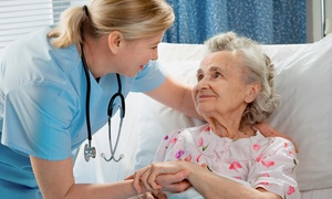 24 HOUR HOME HEALTH: Four-Hour Stay with Services for Seniors at 24 Hour Home Health -Arizona (52% Off)