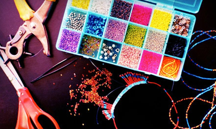 The Bead Studio - AU Park - Friendship Heights - Tenley: One or Three Beading-Jewelry Classes at The Bead Studio (Up to 56% Off)