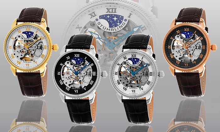 8c6307d99 Up To 91% Off on Stührling Original Men's Watch | Groupon Goods
