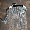 Dream Spa All-Chrome 7 In. Rain Showerhead with 12 In. Extension Arm