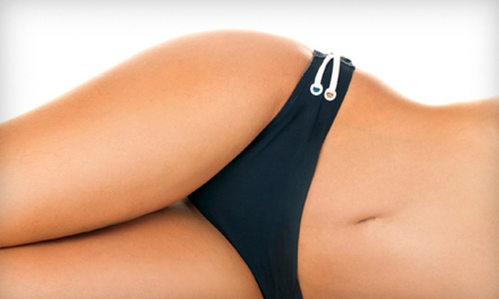 European Wax Center - Multiple Locations: Brazilian Wax with Optional Eyebrow Wax at European Wax Center (Half Off)