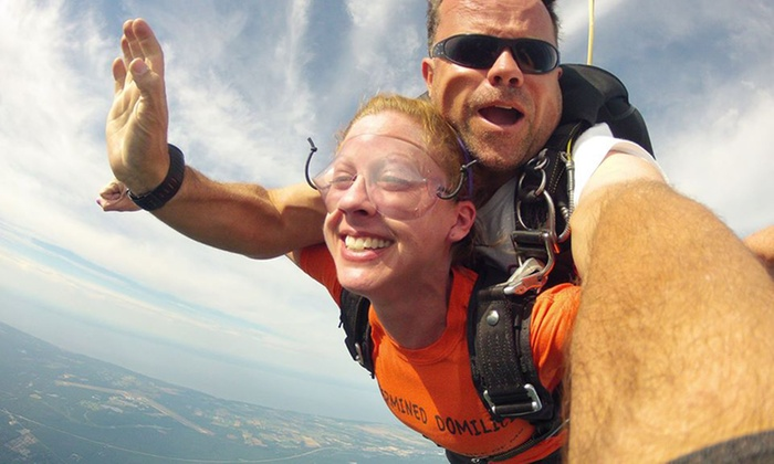 516 Skydive - The Hamptons: Tandem Skydive with Optional Video and Pictures for One or Two from 516 Skydive (Up to 44% Off)