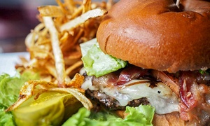 Copper Face Jacks: Pub Dinner with Wine or Beer for Two or Four at Copper Face Jacks (Up to 44% Off)
