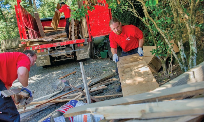 Junk Removal - Voorheesville: $109 for Three Cubic Yards of Junk Removal from Junk King ($208 Value)