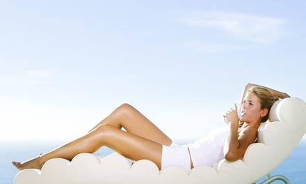 One or Three Full-Body Airbrush Tans at Glo Face & Body (Up to 54% Off)