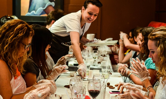 Chocolate Tales - Multiple Locations: C$29 for Chocolate Social Event and Chocolate Making at a Local Bar from Chocolate Tales (55% Off)