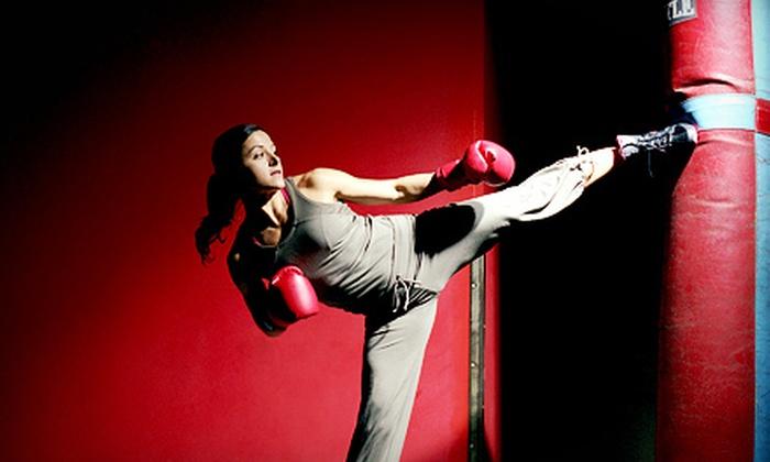 Eastside Kickboxing & Pilates - Newport: $35 for 10 Cardio-Kickboxing and Pilates Classes at Eastside Kickboxing & Pilates ($230 Value)