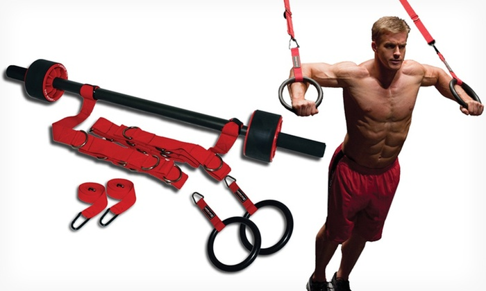Body By Jake I.M. Rings: Body By Jake I.M. Rings Weight-Training System. Free Shipping.