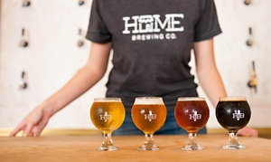 The Homebrewer: Intro to Brewing Class or a Beer Tasting for Two or Four at The Homebrewer/Home Brewing Co. (Up to 44% Off)