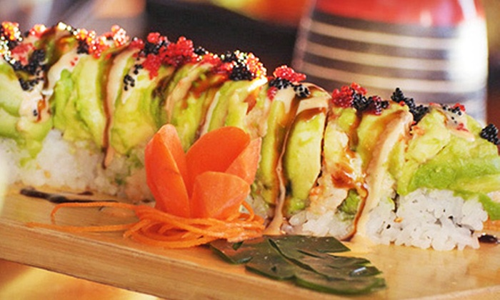 Sushi And Hibachi Style Cuisine Bonsai Japanese Restaurant And Sushi Bar Groupon