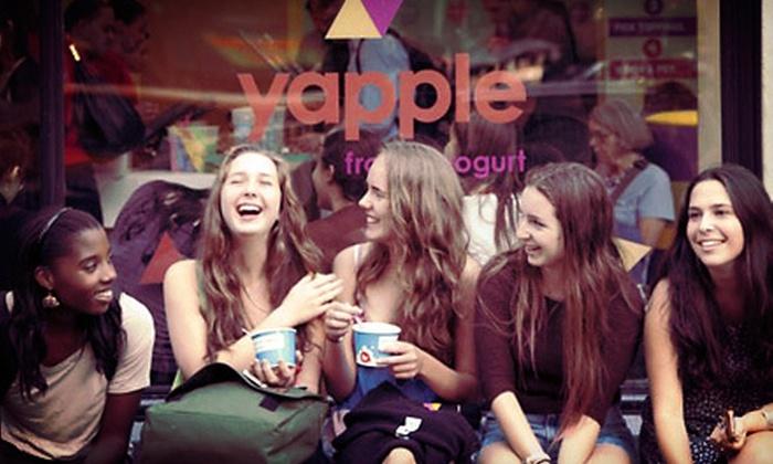 Yapple Yogurt - Carytown: Frozen Yogurt, Smoothies, and Bubble Tea at Yapple Yogurt (Half Off). Two Options Available.