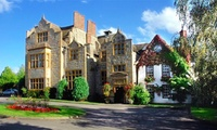 Warwickshire: 1-3 Nights for 2 with Breakfast and Optional Castle/StratfordTickets at Best Western Salford Hall Hotel
