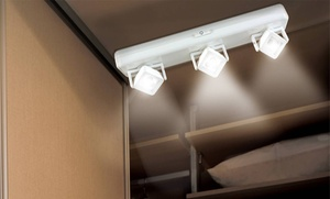 InEdge Nine-LED Cabinet Light with Pivoting Head at InEdge Nine-LED Cabinet Light with Pivoting Head, plus 6.0% Cash Back from Ebates.