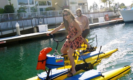 $11 for a One-Hour Hydrobike Ride from Long Beach Hydrobikes ($20 Value)