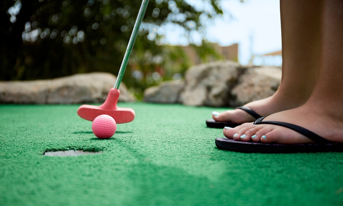 Fun & Games - Fun & Games: 18 Holes of Mini Golf for Two or Four at Fun & Games (Up to 38% Off)