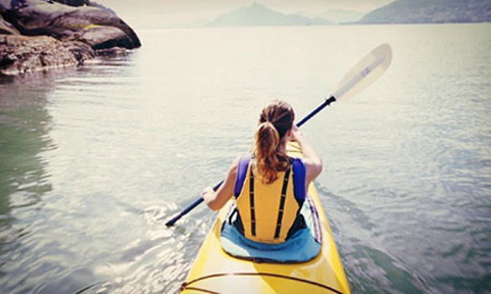 Reno Mountain Sports - Reno: Kayak Single or Tandem Rental or Tubing Rental for Two or Four from Reno Mountain Sports (Up to 62% Off)