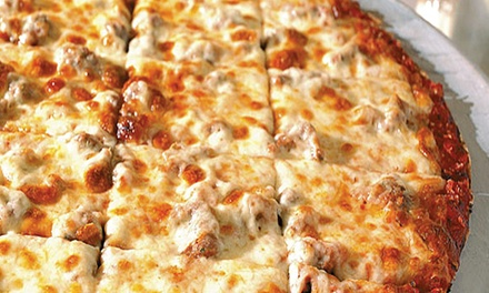 Pizza Dinner for Two, Four, or Six at Villa Rose Pizza (Up to 50% Off). Four Options Available.