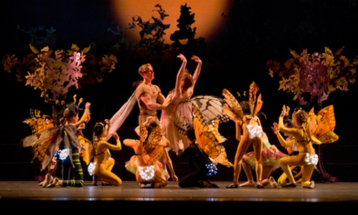 "Oregon Ballet Theatre - ""A Midsummer Night's Dream"" - Keller Auditorium: Oregon Ballet Theatre's ""A Midsummer Night's Dream"" at Keller Auditorium on October 17 at 7:30 p.m. (Up to 53% Off)"