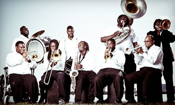 The Hot 8 Brass Band - Howlin' Wolf: The Hot 8 Brass Band Concert and Appetizers for Two or Four at The Howlin' Wolf (Up to 58% Off)