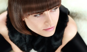 Karizma Salon & Spa: Haircut and Deep Conditioning with Optional All-Over Color or Full Highlights at Karizma Salon & Spa (Up to 63% Off)