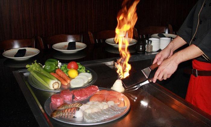 Samurai Sushi and Hibachi - Strongsville: $12 for $25 Worth of Japanese Hibachi Dinner at Samurai Sushi and Hibachi