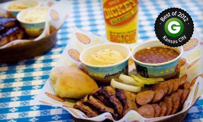 Dickey's Barbecue Pit - Southridge: $8 for $16 Worth of Barbecue Cuisine, Drinks, and Sides at Dickey's Barbecue Pit