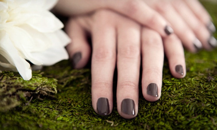 OMG Nails - South Frogtown: Luxury Pedicure with Basic or Gel Manicure at OMG Nails (Up to 56% Off)