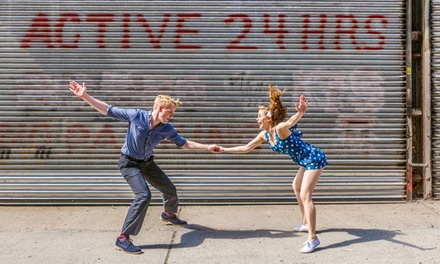 One or Three Four-Hour Dance Workshops for One or Two People from Dan & Lainey (Up to 70% Off)