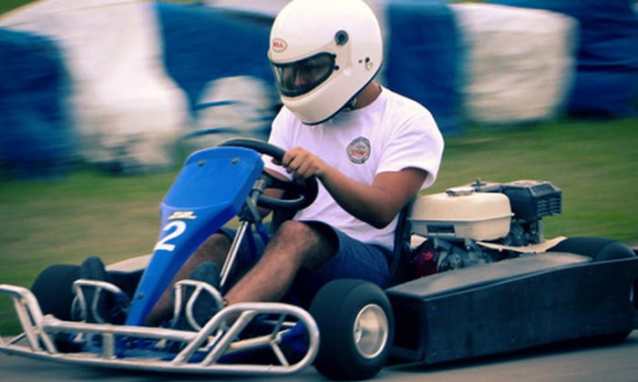 Florida International Rally & Motorsport Park - Hampton: Three 12-Minute Go-Kart Races for One or Two at Florida International Rally & Motorsport Park (Up to 54% Off)
