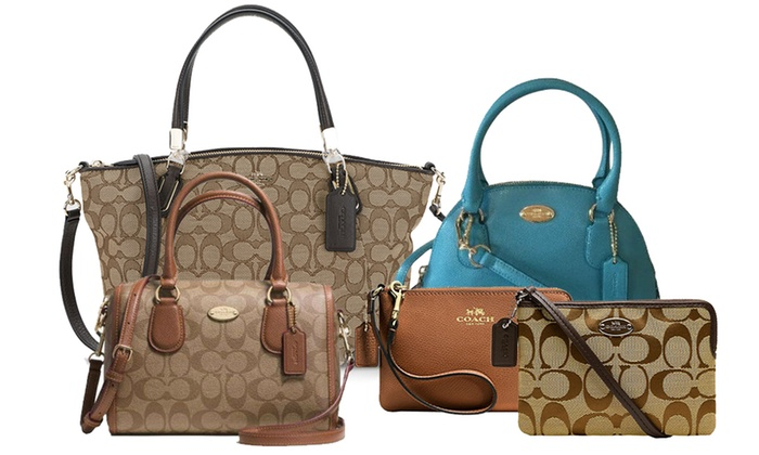 acb6dc6a Coach Women Handbags | Groupon Goods
