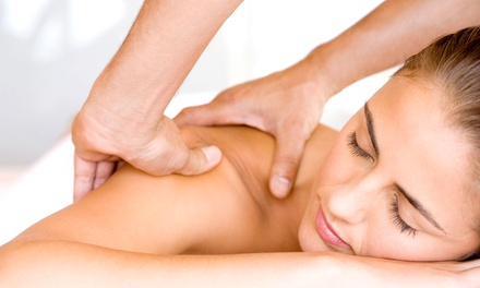 Massage with Option for Facial or Hand-and-Foot Treatment at Healing Hands Massage & Wellness (Up to 67% Off)