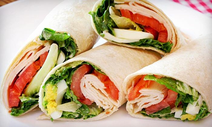 Indigo Café - Kearny Mesa: Cali-Cajun Cuisine for Dine-in or Catering at Indigo Café (Half Off). Three Options Available.