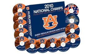 Auburn Football 2010 Perfect Season DVD Box Set