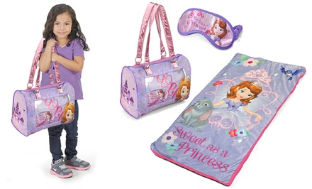 Disney and Mattel 3-Piece Sleepover Sets. Multiple Characters Available. Free Returns.