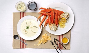 The Crab Stop: $28 for $40 Worth of Dine-In for Two or More at The Crab Stop