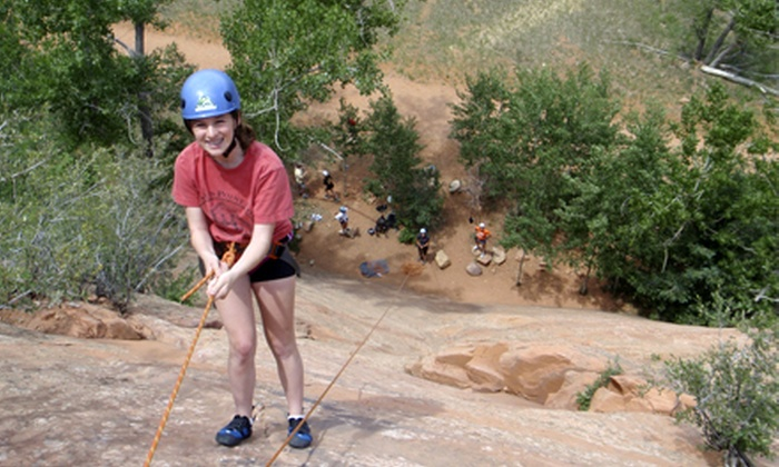 First Ascent Mountain School - Kissing Camels: Half-Day Guided Rock-Climbing Trip for Two or Four from First Ascent Mountain School (Half Off)