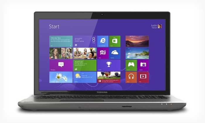"Toshiba Satellite 17.3"" 1080p HD Laptop: $519.99 for a Toshiba Satellite 17.3"" Laptop (Manufacturer Refurbished) ($925.99 List Price). Free Shipping and Returns."